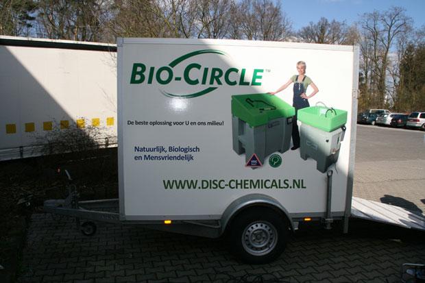 Bio Circle demonstratie op locatie