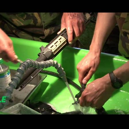 Military Weapons Cleaning